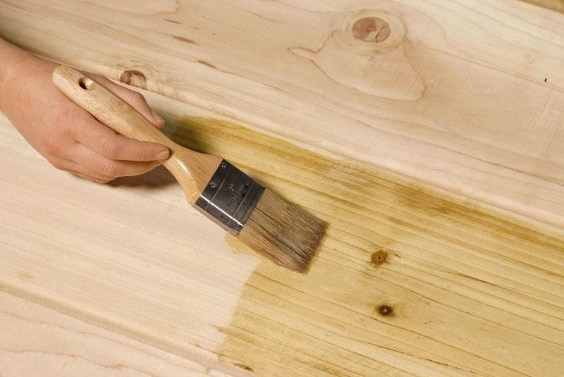 براق کردن درب ضد سرقت چوبی
