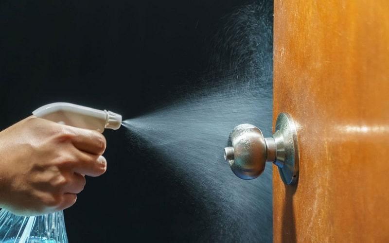 آموزش اصولی تمیز کردن درب ضد سرقت