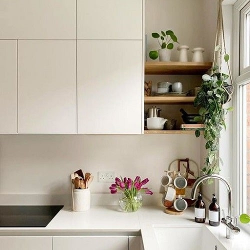 کاربرد شلف در آشپزخانه