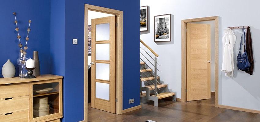 رفع صدای درب چوبی